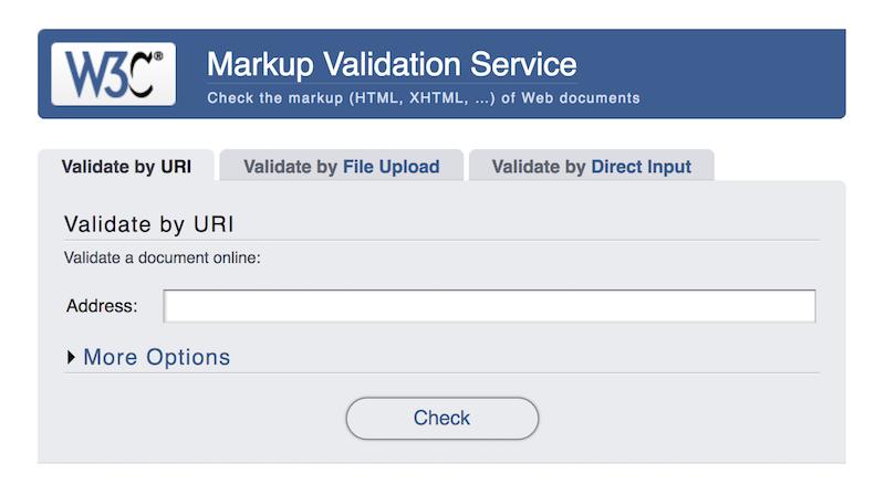 markup-validation- service